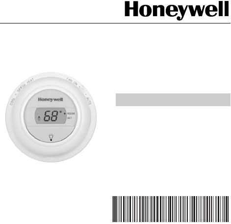 honeywell thermostat cm907 user guide