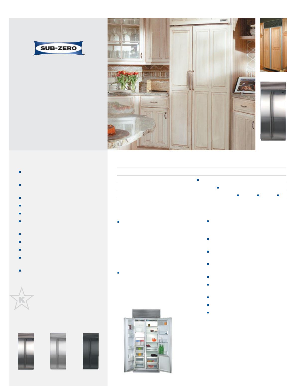 sub zero refrigerator 661 o user guide manualsonline com rh kitchen manualsonline com sub zero refrigerator manual pdf sub zero refrigerator manual 650