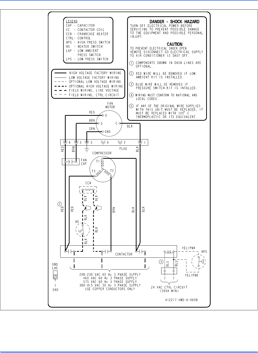 page 15 of johnson controls air conditioner f  series user guide