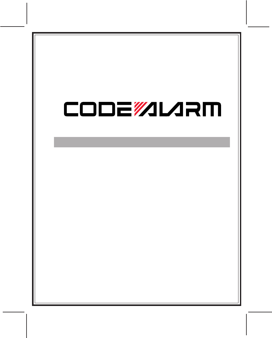 code alarm automobile alarm ca 110 user guide manualsonline com rh auto manualsonline com Ca-110 RF30 Ca-110 RF30 Camcorder Charger