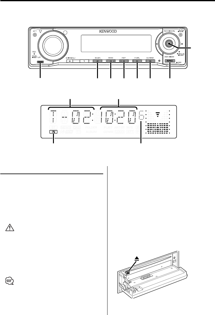 page 15 of kenwood car stereo system kdc mp4032 user guide rh caraudio manualsonline com Kenwood KDC Bt648u Kenwood KDC- 252U