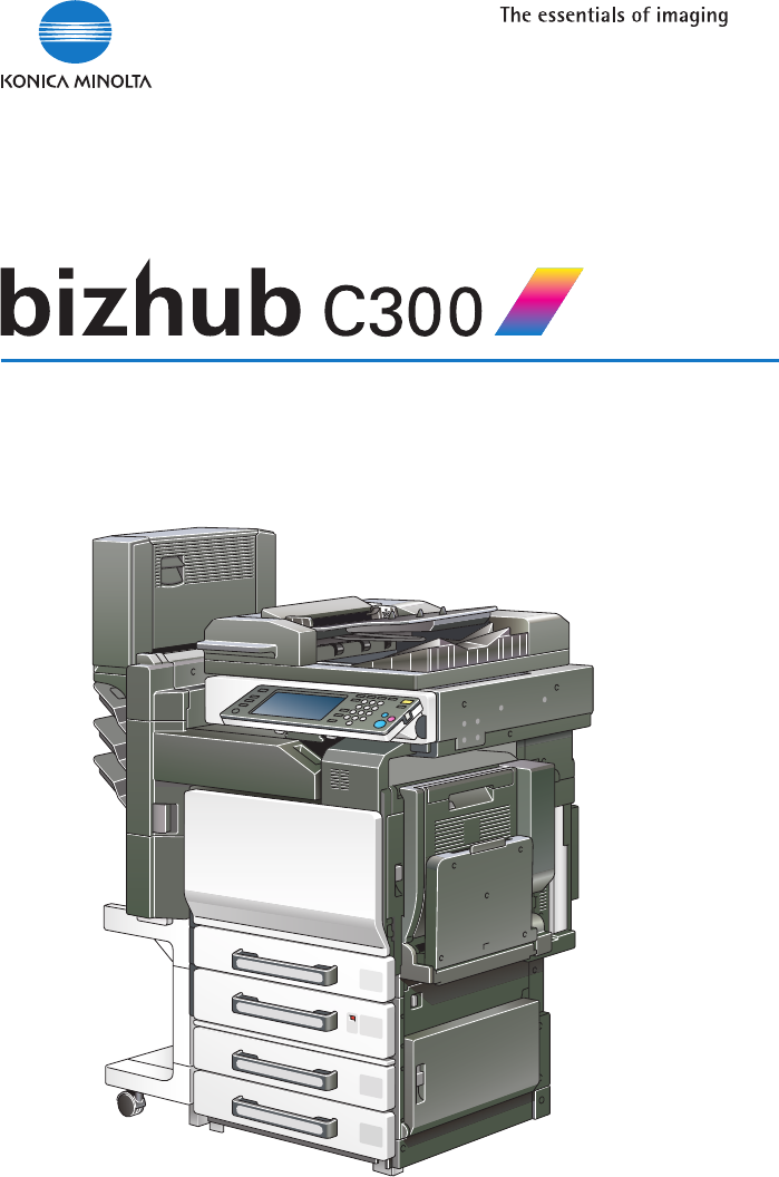 konica minolta all in one printer bizhub c300 user guide rh office manualsonline com bizhub c458 user guide konica user guide