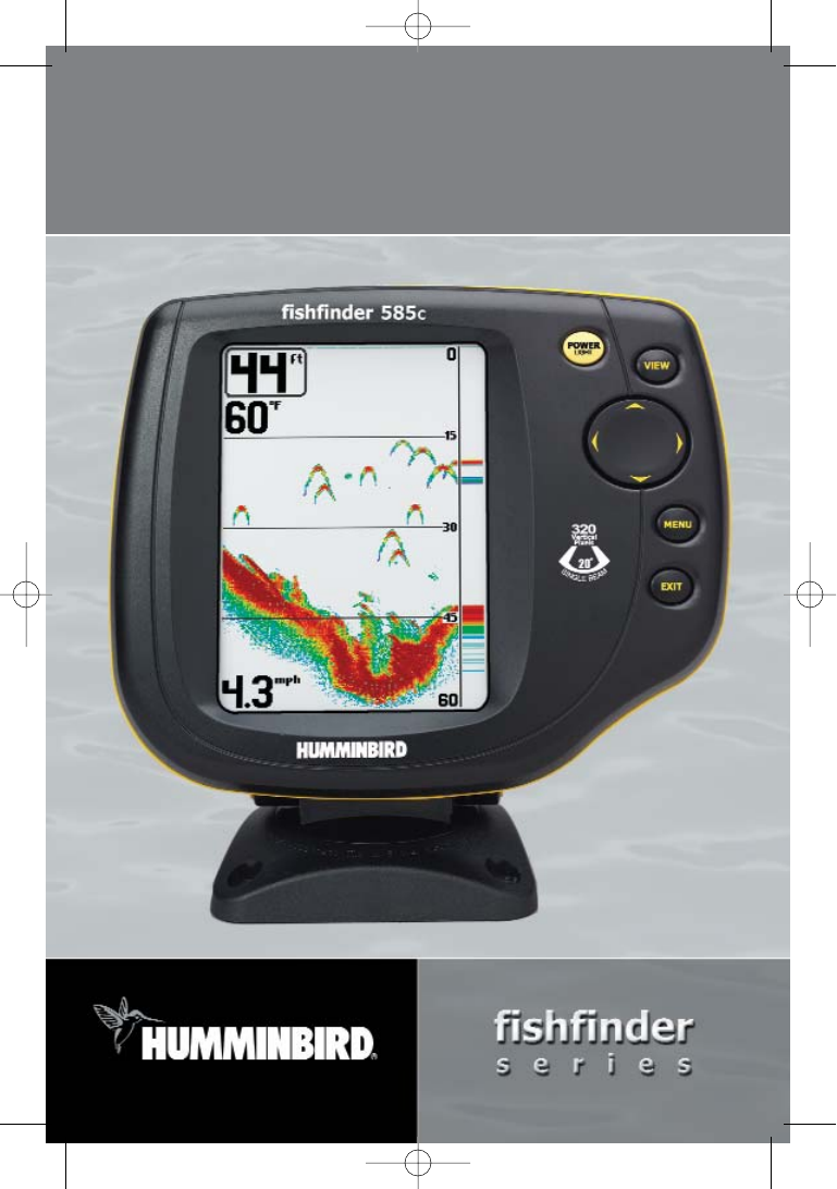 humminbird fish finder 585c user guide | manualsonline, Fish Finder