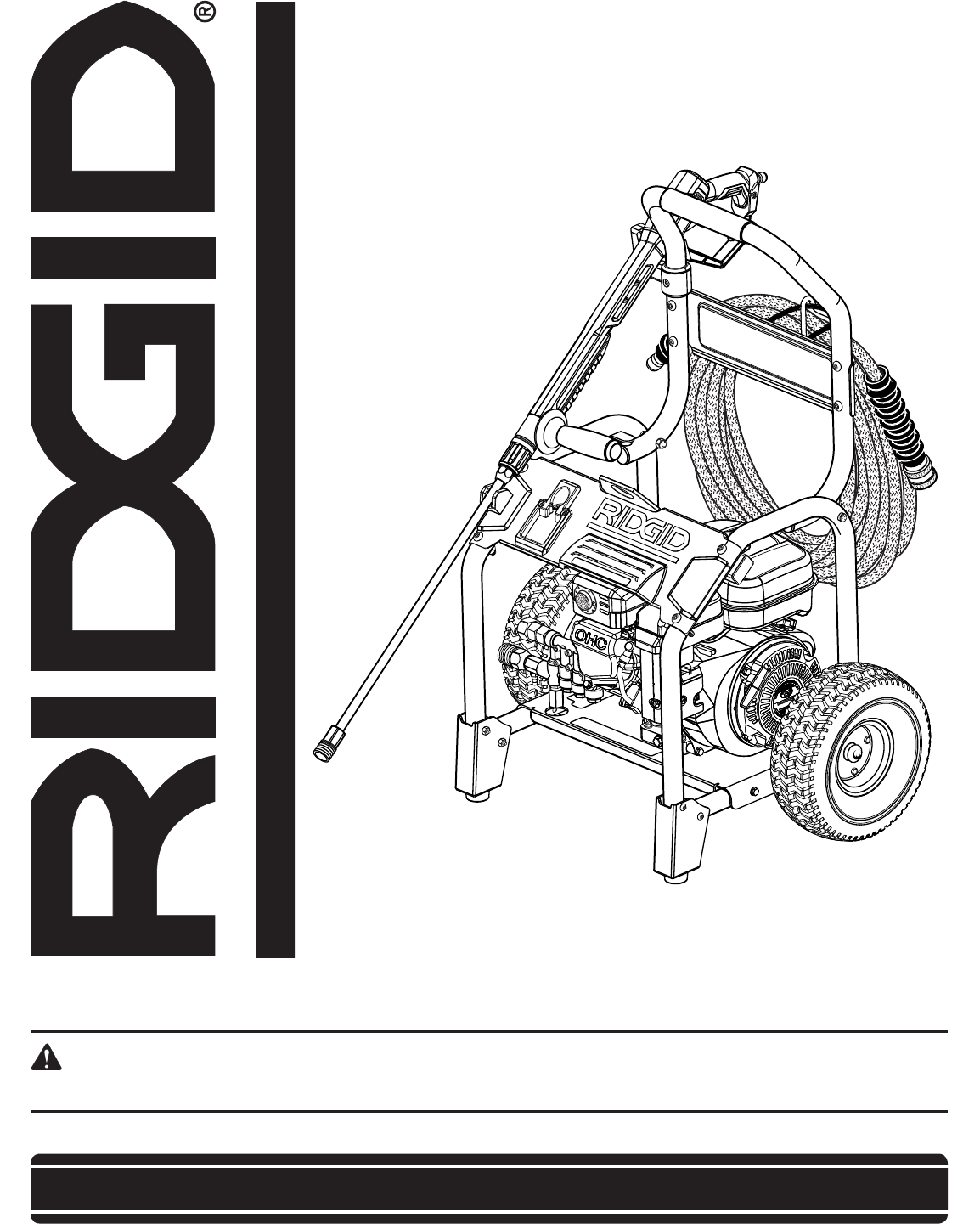 ridgid pressure washer rd80763 user guide manualsonline com rh lawnandgarden manualsonline com ridgid owners manuals ridgid planer user manual