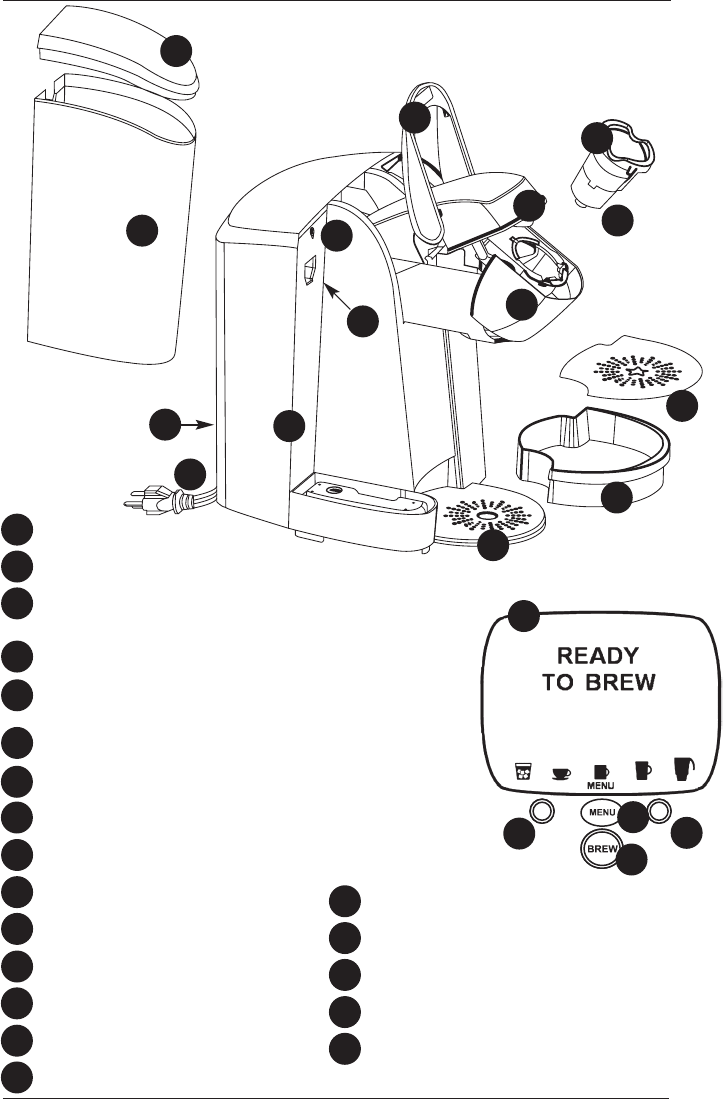 Breville Coffee Maker Parts Manual : Keurig B150 Parts Diagram, Keurig, Get Free Image About Wiring Diagram