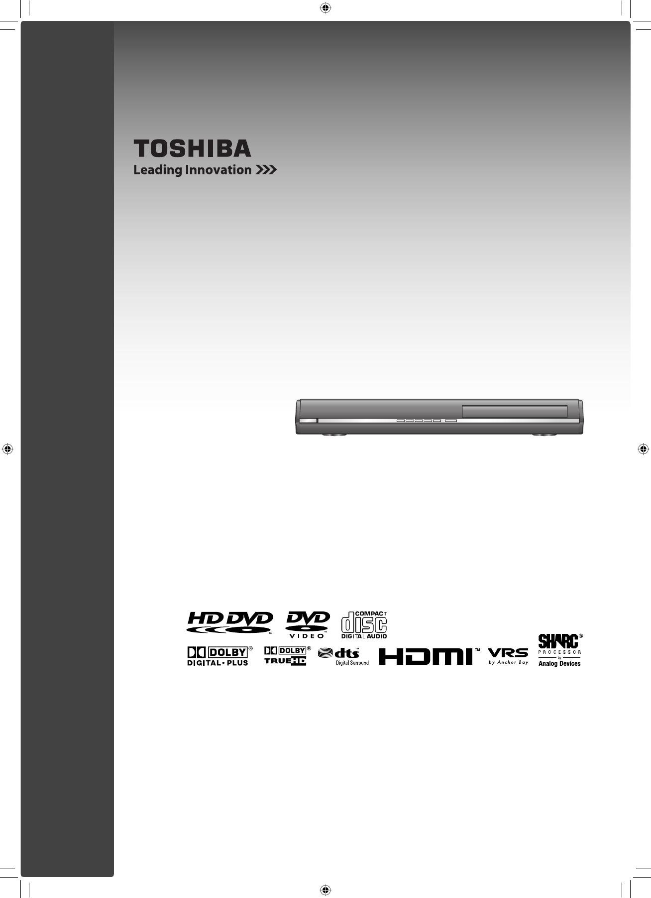 toshiba dvd player hd ep30ke user guide manualsonline com rh tv manualsonline com Best Toshiba HD DVD Player Best Toshiba HD DVD Player