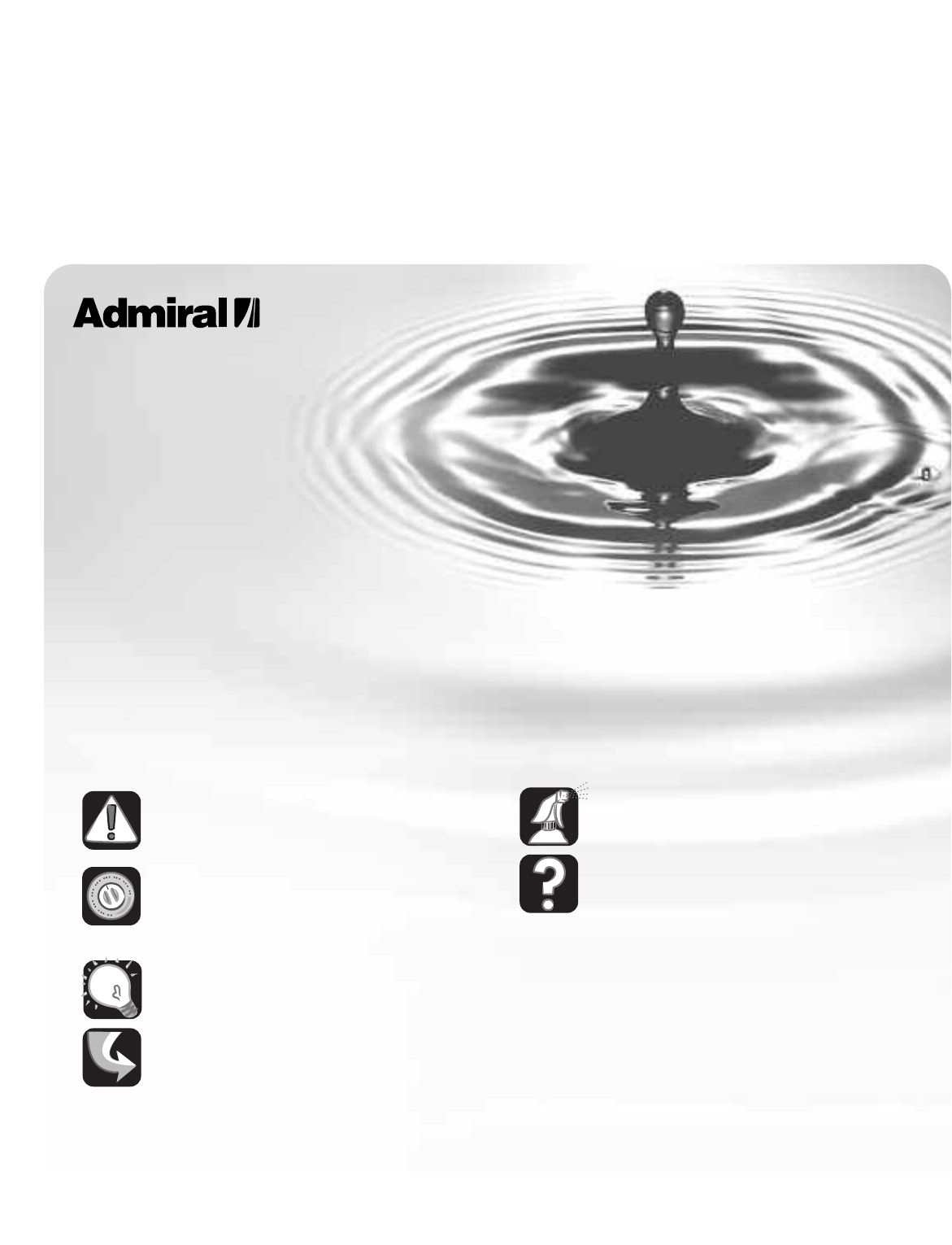 admiral washer atw4675yq1 user manual
