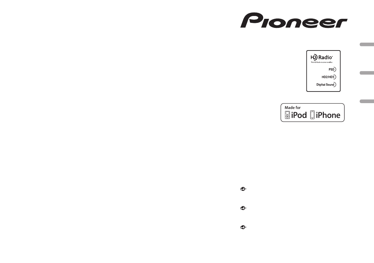Pioneer Car Stereo System DEHX56HD User Guide ManualsOnlinecom