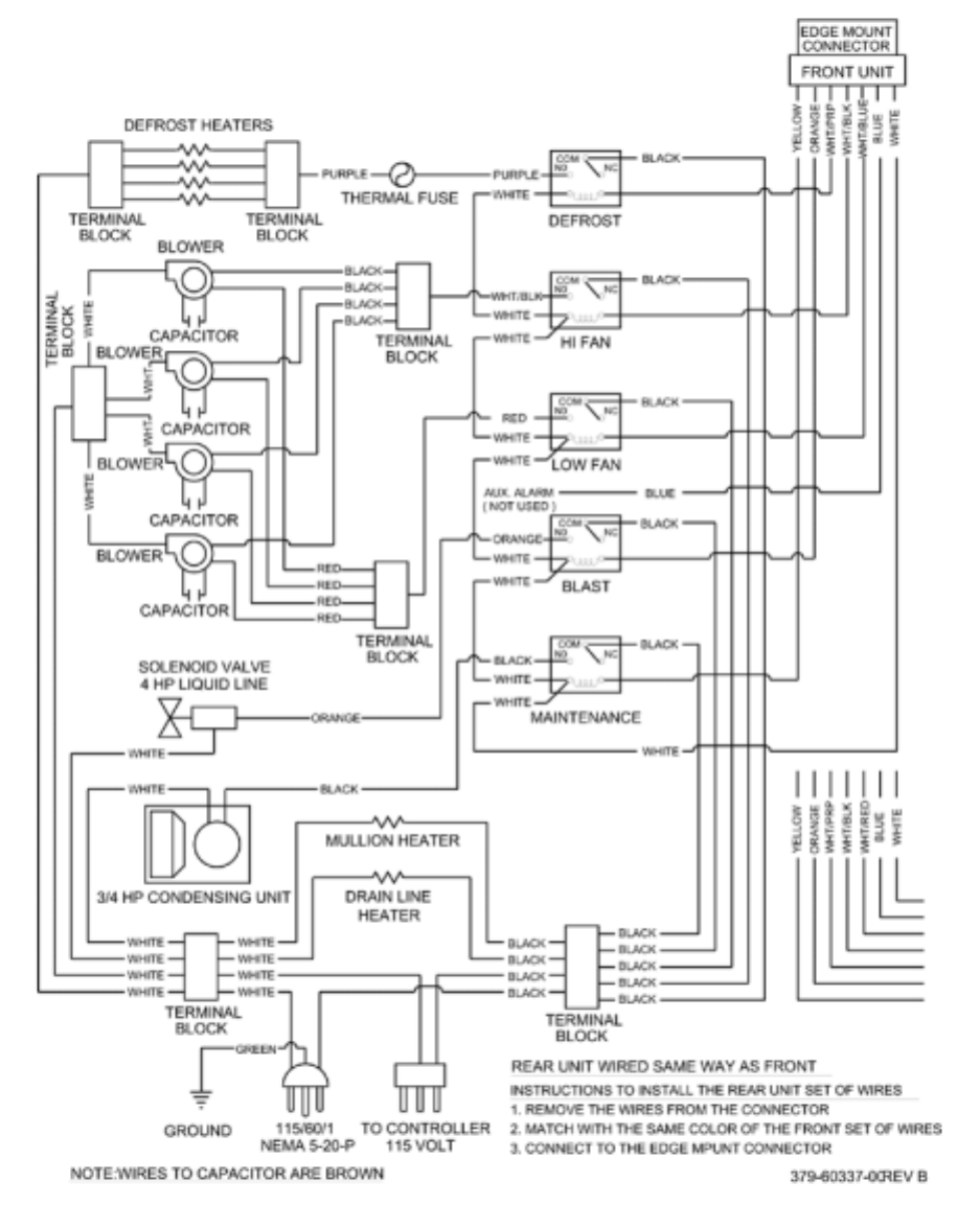 g20010 traulsen wiring diagram