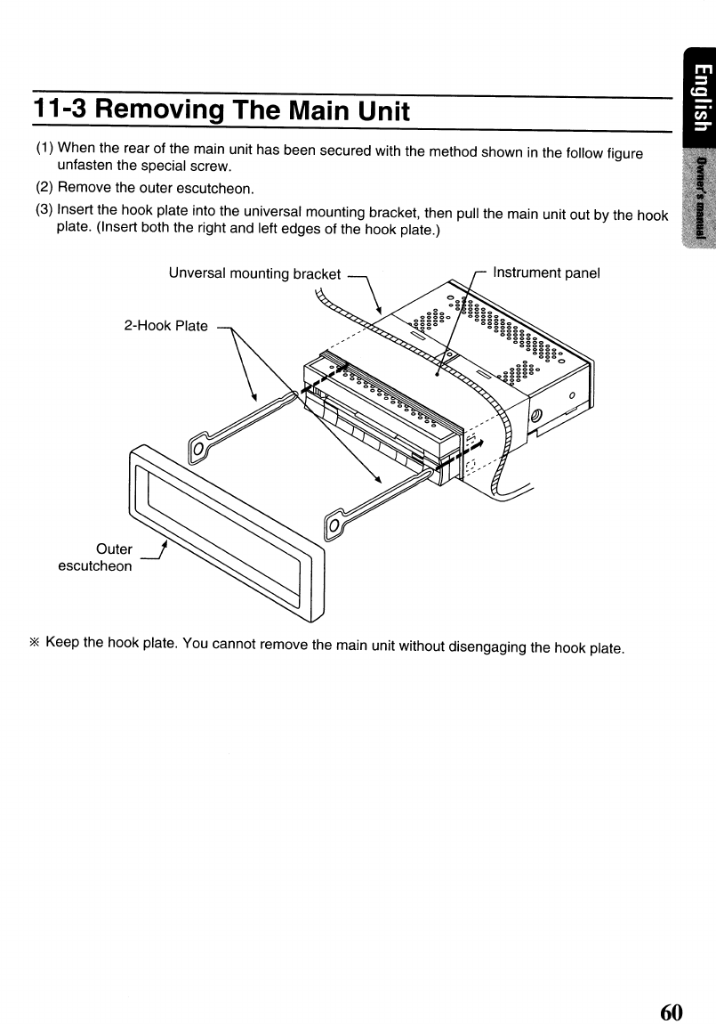 page 60 of clarion car stereo system vrx575usb user guide rh caraudio manualsonline com Clarion DXZ645MP Wiring-Diagram Clarion NX409 Wiring Harness Diagram