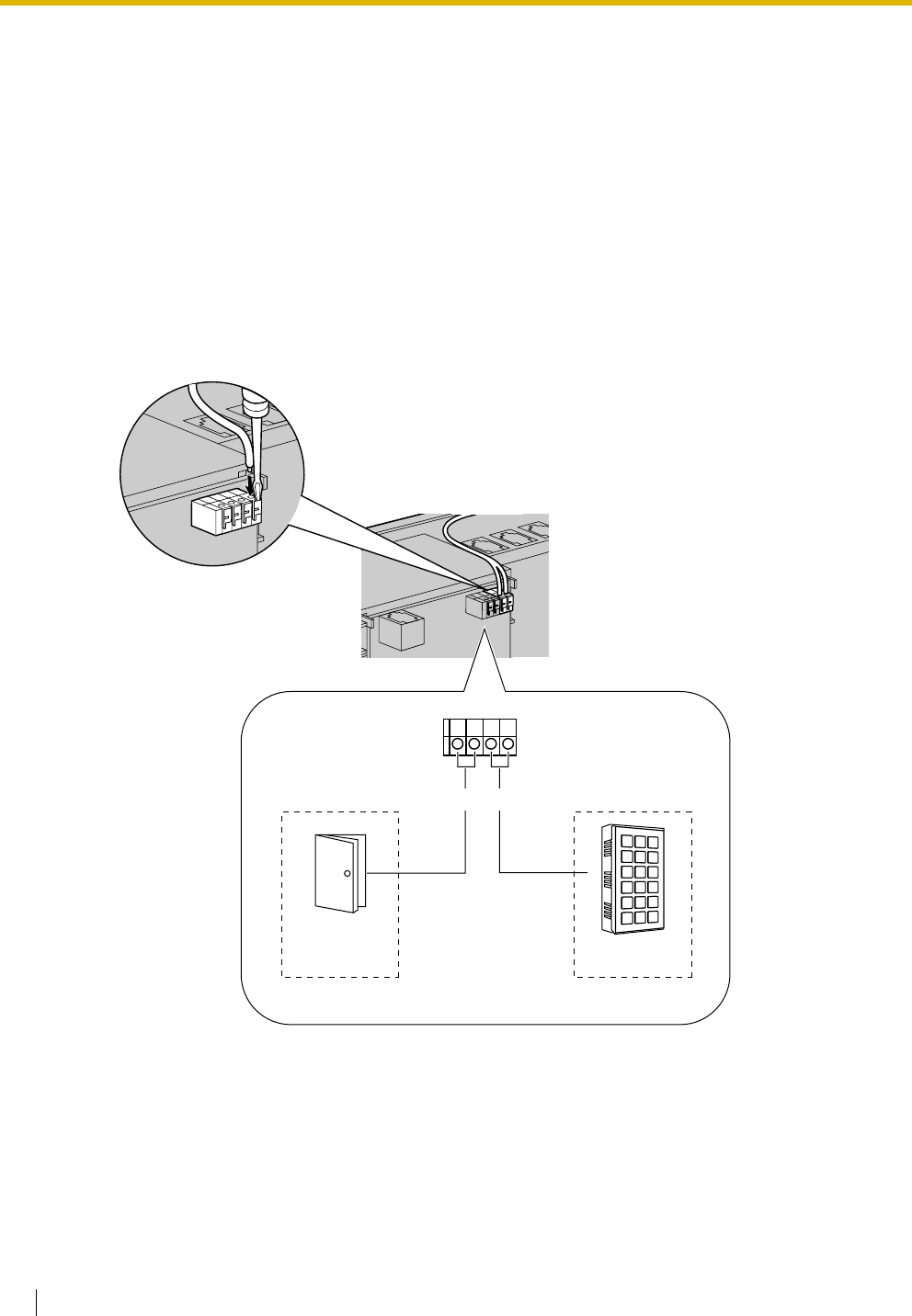 Page 68 Of Panasonic Telephone Kx Tes824 User Guide Manualsonlinecom Correct Wiring For Doorbell 27 Connecting Or Door Chime