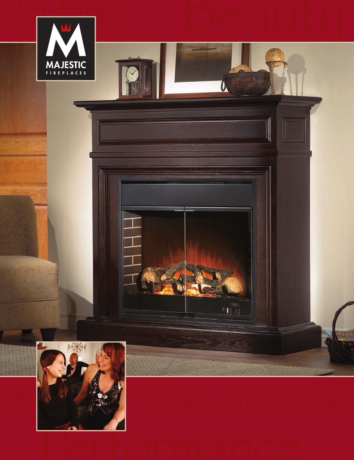 majestic indoor fireplace classic series user guide manualsonline com