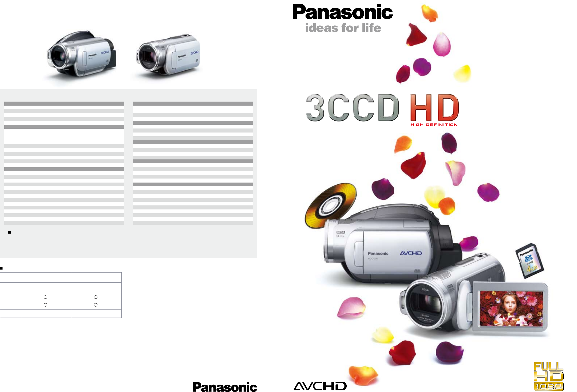 panasonic camcorder 3ccd hd user guide manualsonline com rh camera manualsonline com Panasonic 3CCD HD Camcorder Panasonic AVCCAM 3CCD