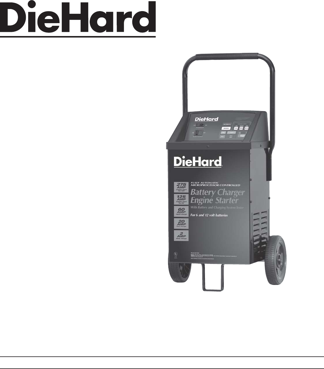 sears battery charger 200 71232 user guide manualsonline com rh powertool manualsonline com sears 10/2 manual battery charger sears manual battery charger for 12 volt