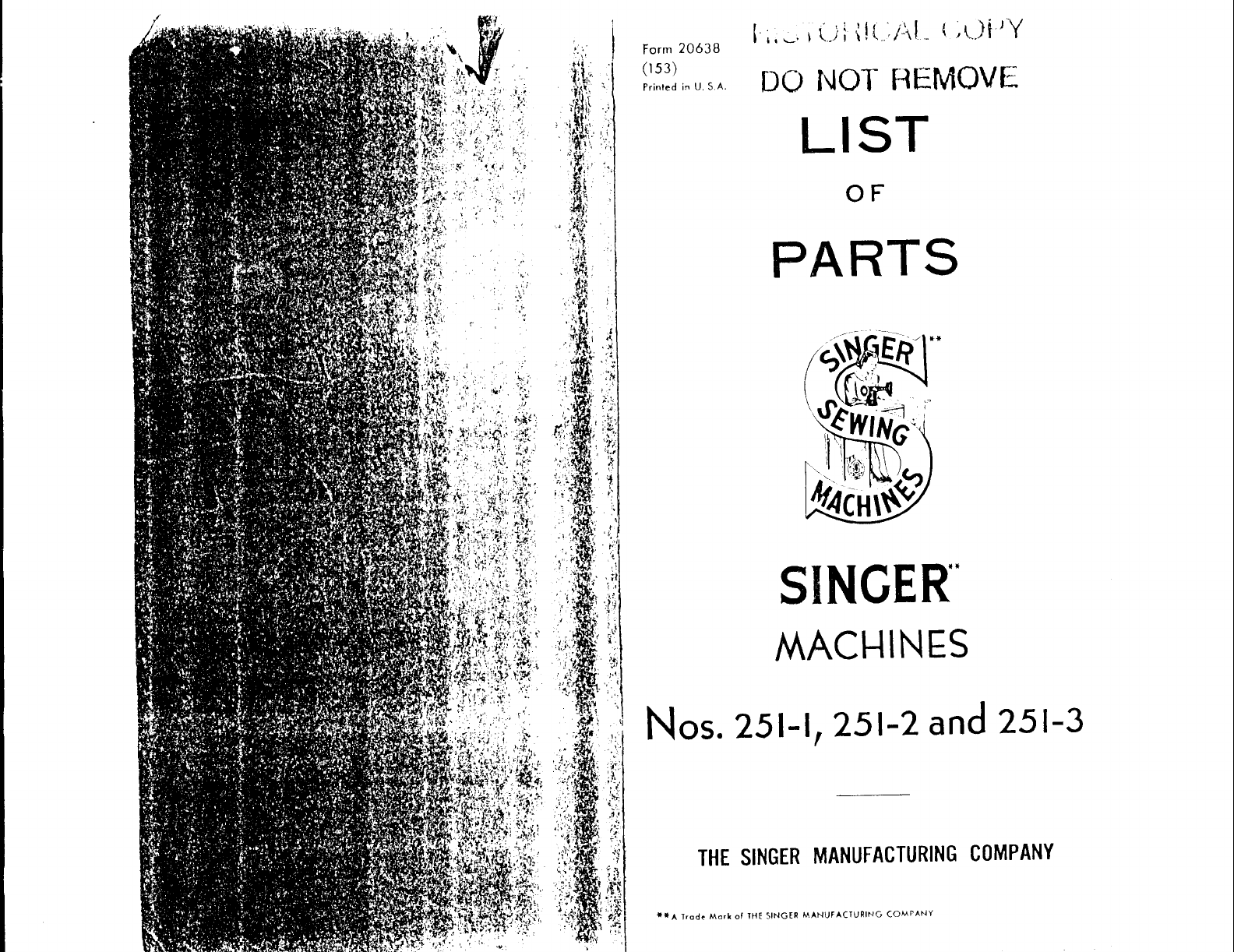 Singer Sewing Machine 251 2 User Guide Manualsonlinecom Gas Furnace Schematic Next