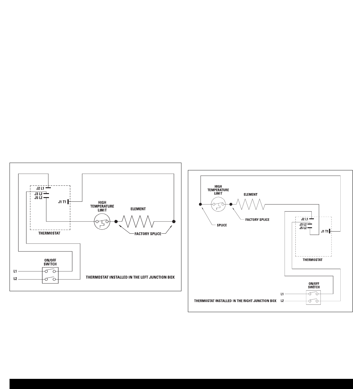 Diagram Baseboard Wiring Cadet Sbft2 Schematic Diagrams Heater 120 Volts Page 2 Of Thermostat User Guide Manualsonline Com Volt