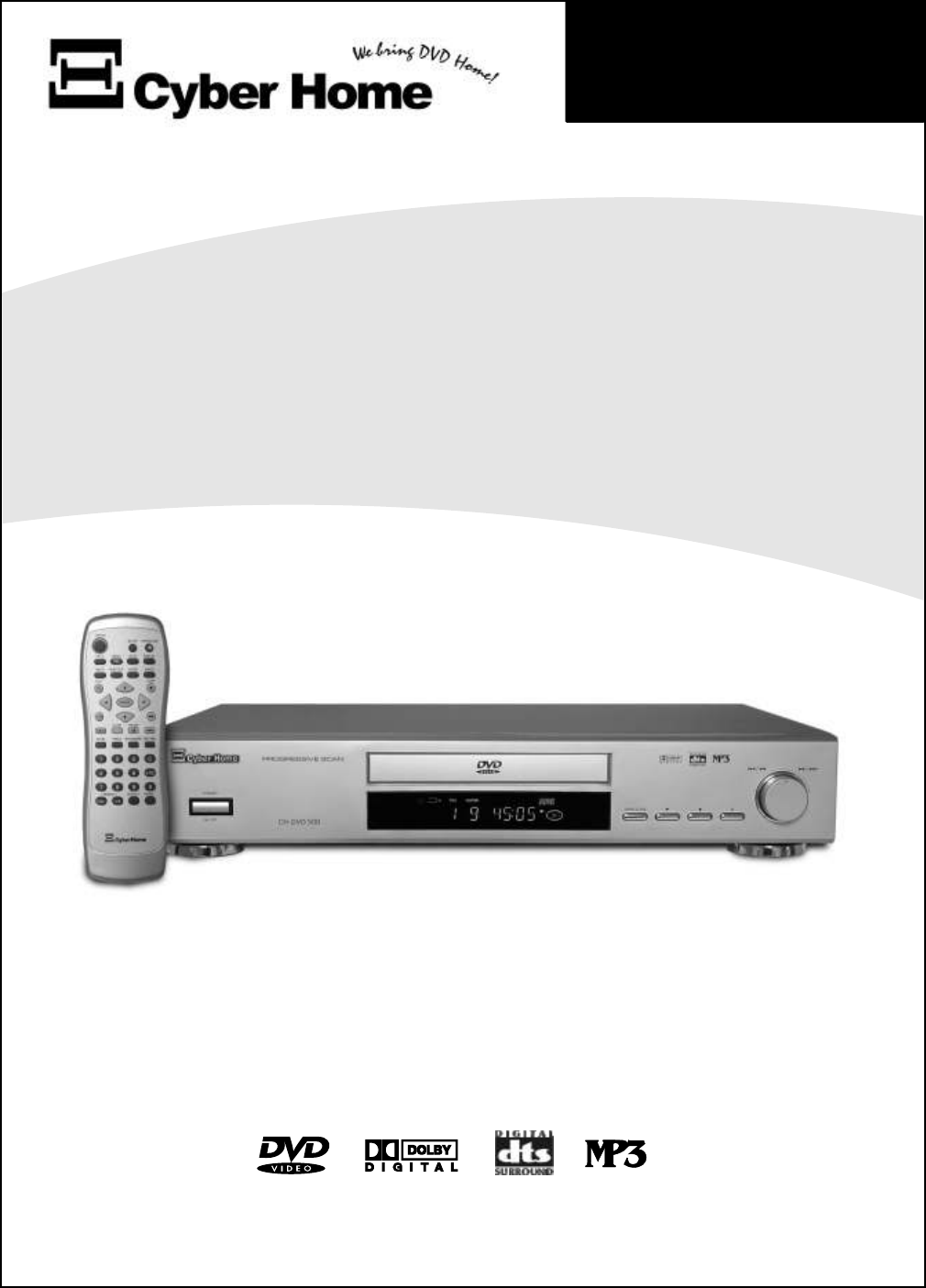 DVD Player. Owner's Manual