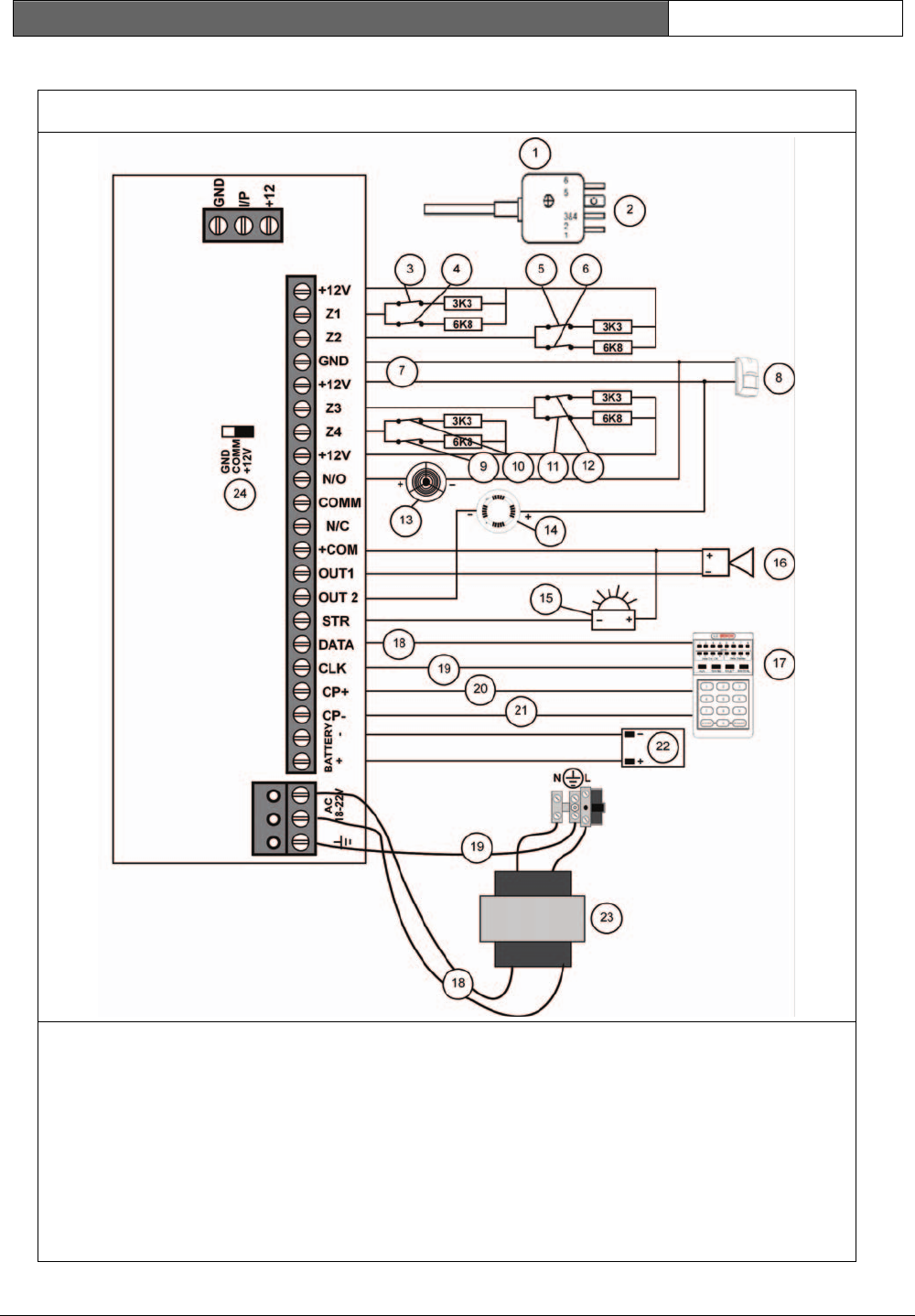 Bosch Alarm Wiring Diagram - Wiring Library • Insweb.co
