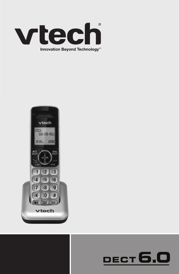 vtech cordless telephone cs6409 user guide manualsonline com rh tv manualsonline com vtech cordless phone cs6114 user manual vtech 5.8 ghz cordless phone user manual