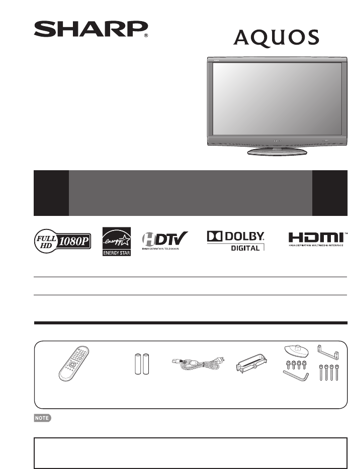 sharp flat panel television lc c5277un user guide manualsonline com rh tv manualsonline com