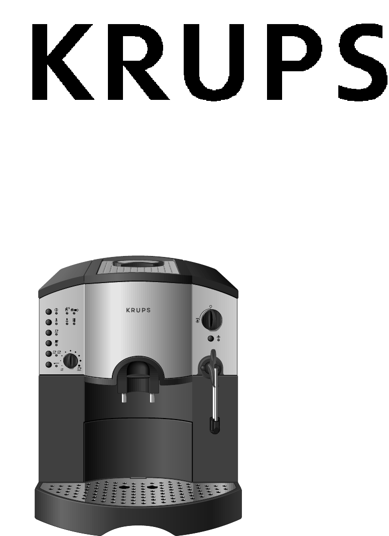 Krups Coffee Maker Km1000 Manual : Krups Espresso Maker 889 User Guide ManualsOnline.com