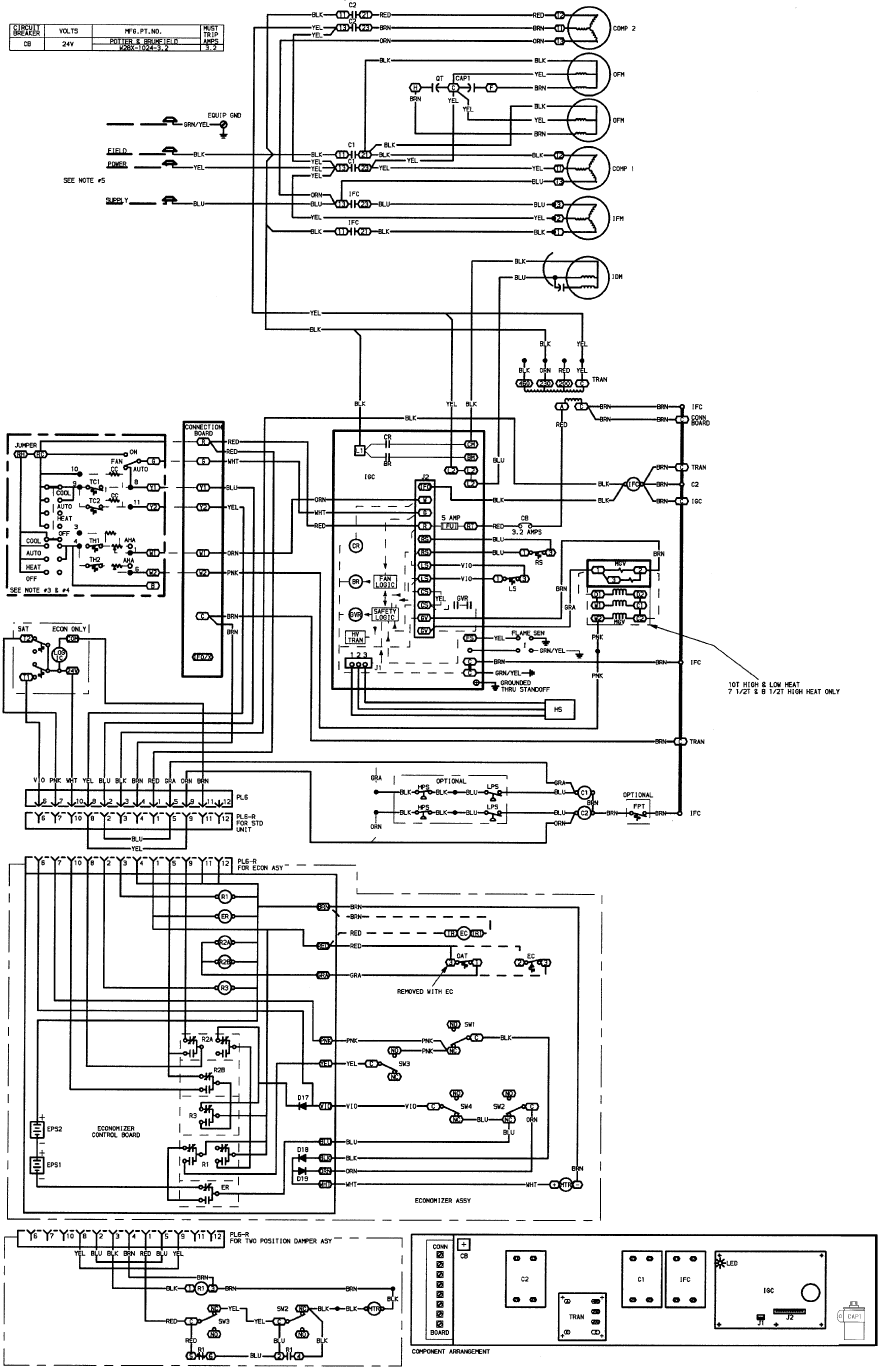 65502210 aae7 4197 8138 d825bcd38a1e bg24 page 36 of carrier air conditioner 48tje008 014 user guide economizer wiring diagram at gsmx.co