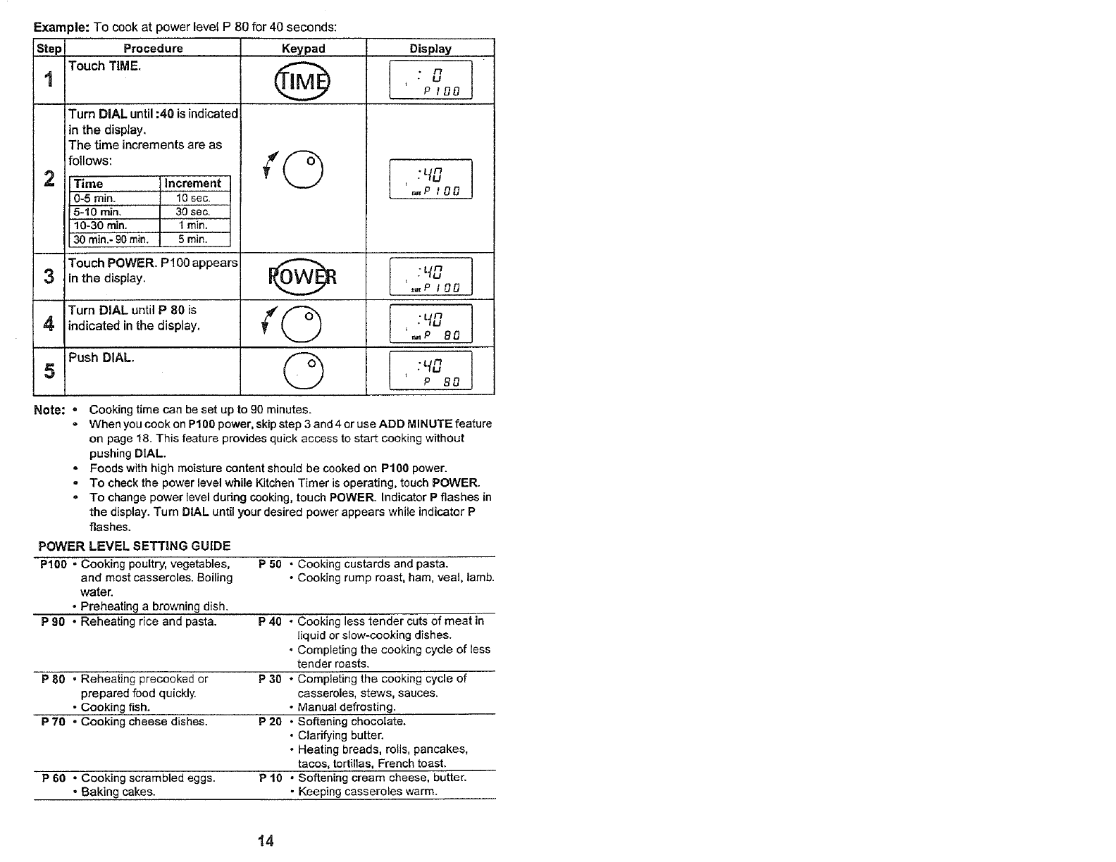 page 14 of kenmore microwave oven 565 60582 user guide rh kitchen manualsonline com Manual Guide Cover Paperwork Guide