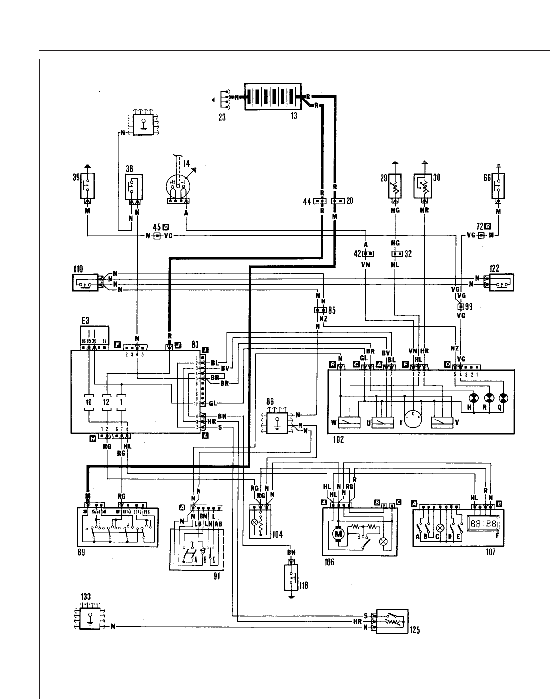 Wiring Diagram For 65 Plymouth 6 Diagrams Images Fiat Ducato 1997