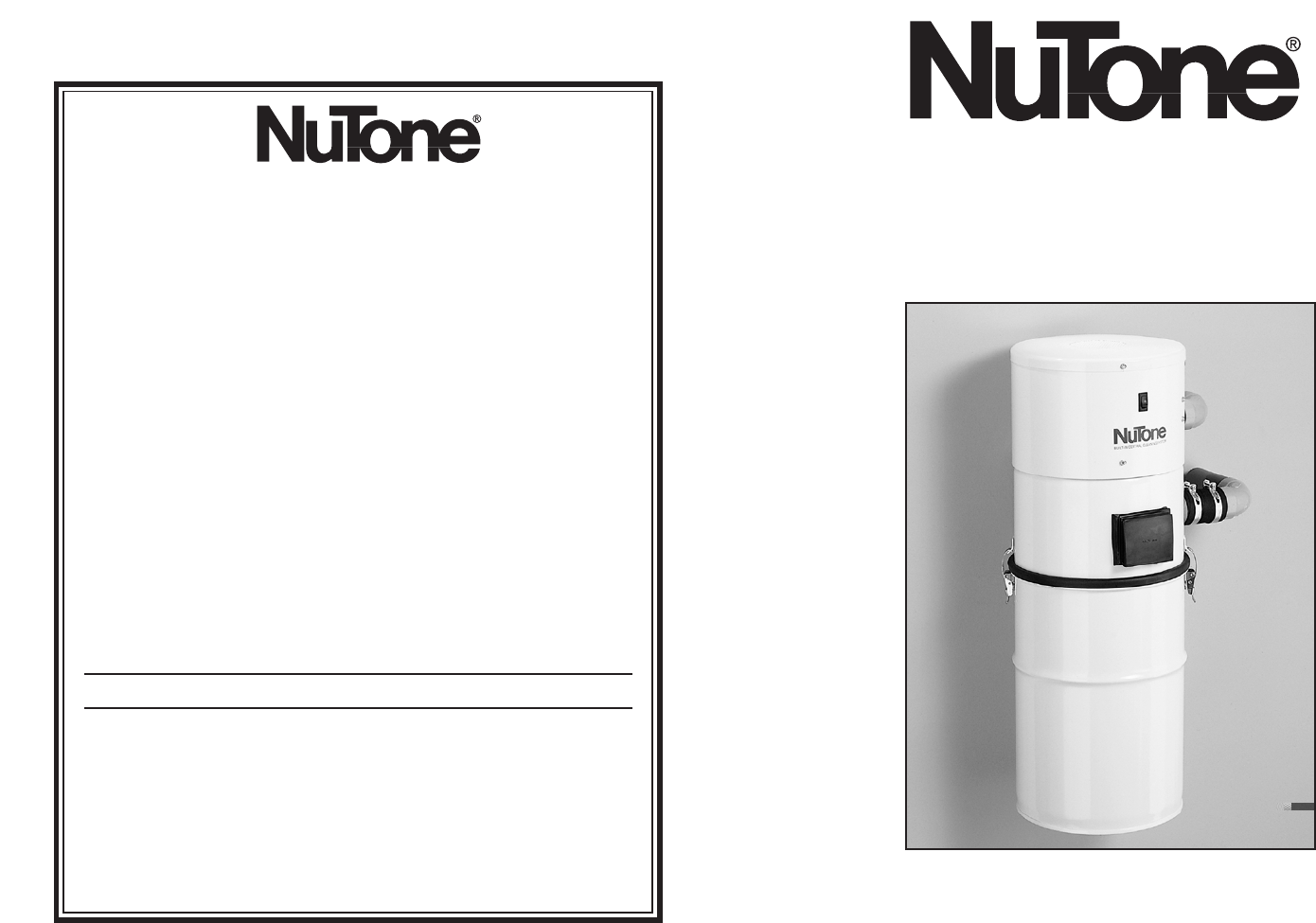 nutone water system cv350 user guide manualsonline