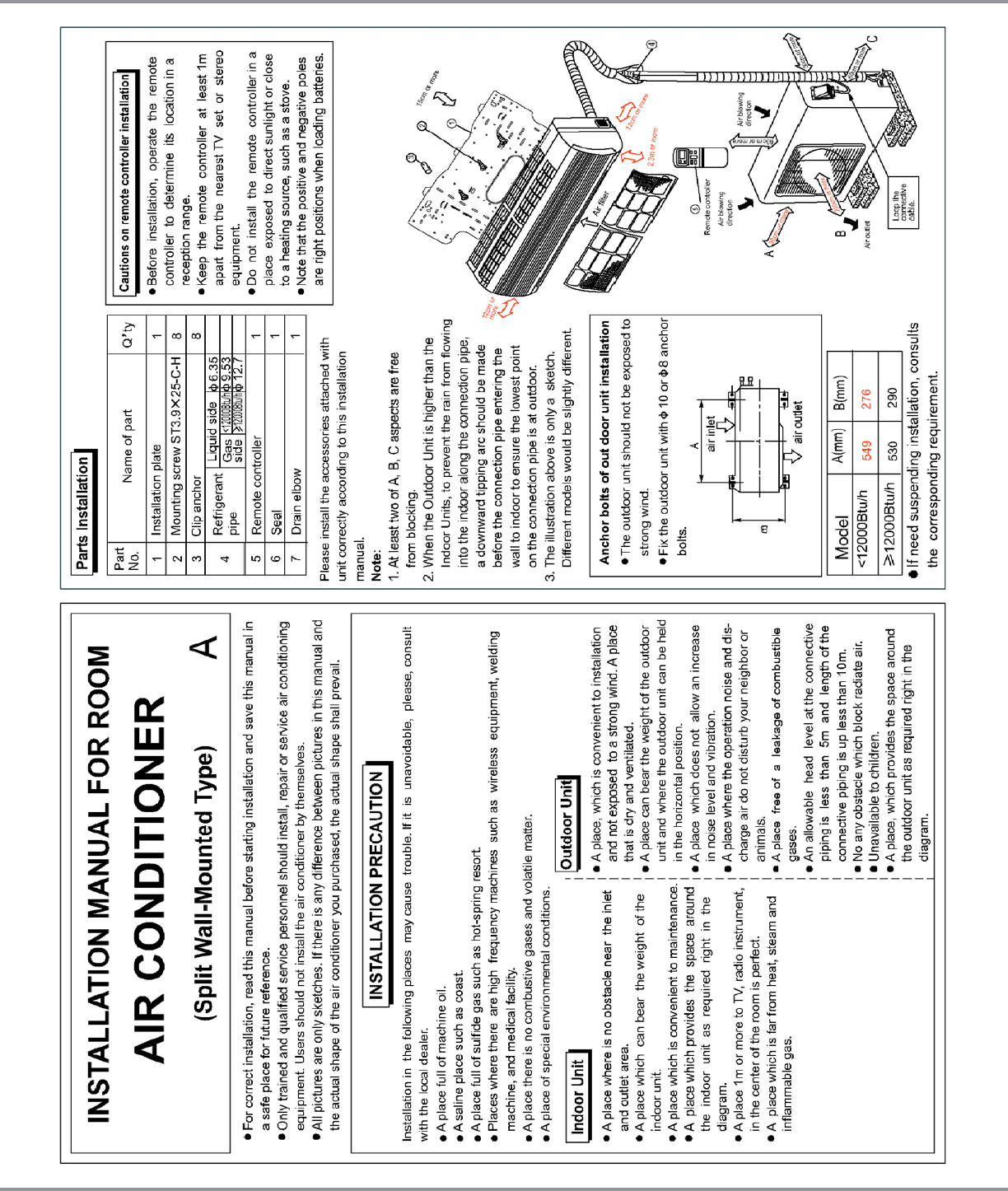 page 2 of goodman mfg air conditioner msg