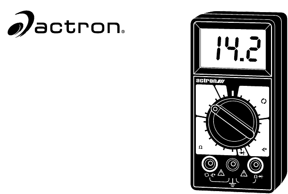actron automobile parts cp7676 user guide manualsonline com rh auto manualsonline com Actron Professional Series Voltmeter Manual Actron Professional Series Voltmeter Manual
