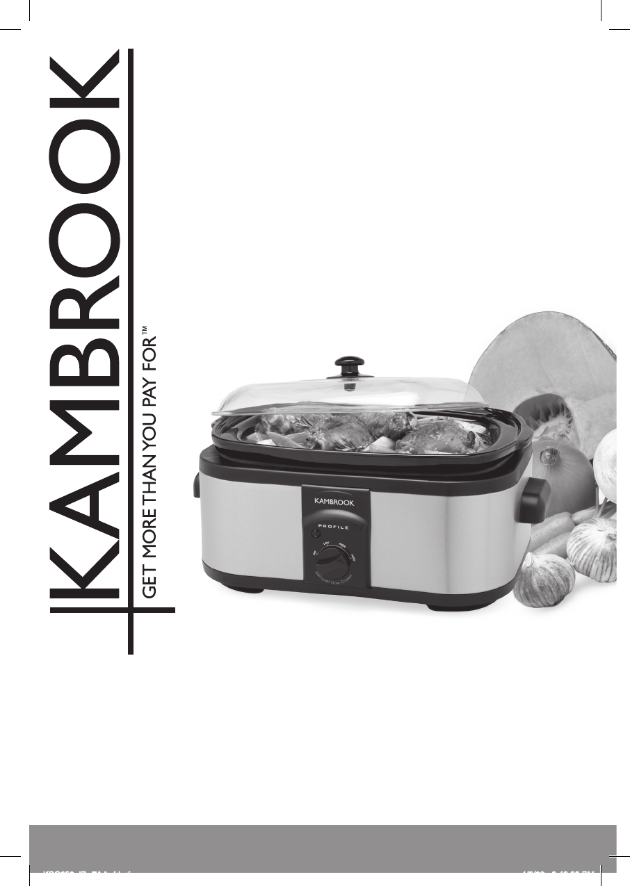 slow cooker for dummies pdf