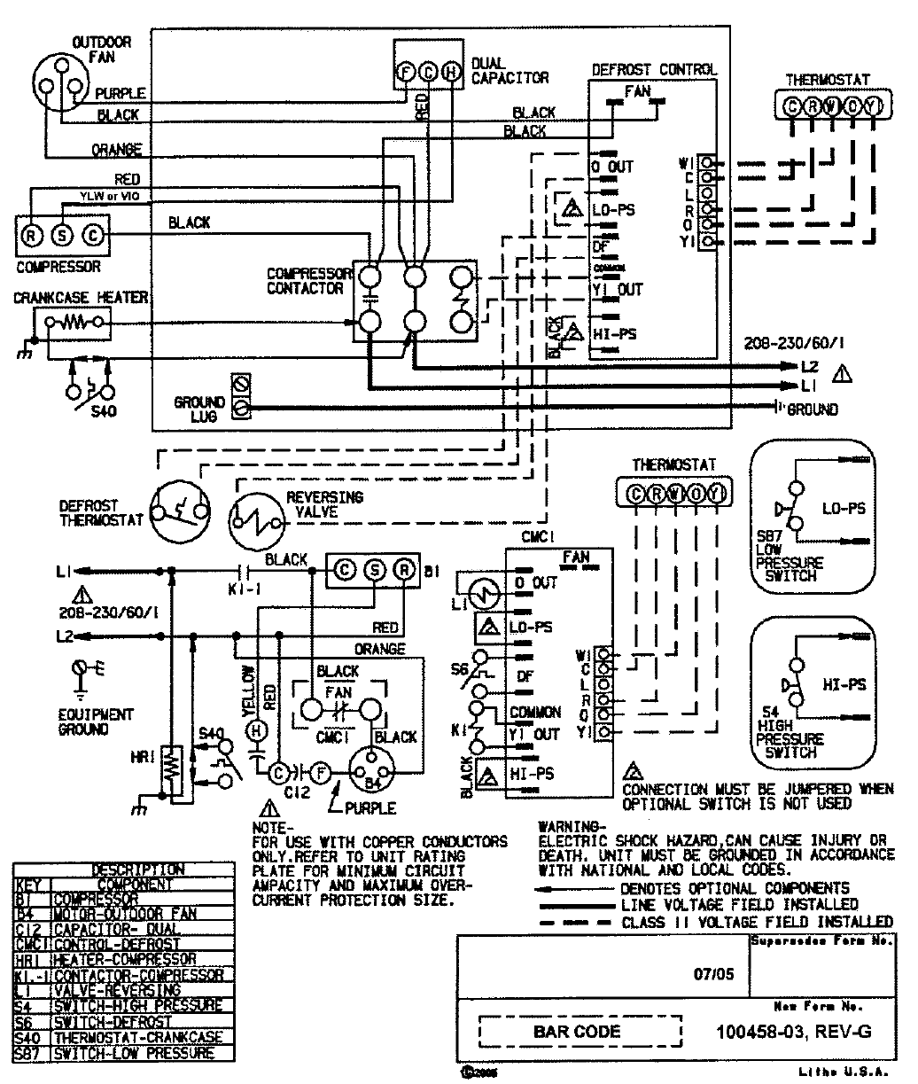 66a1938d e87a 8684 cde2 d0cfcc8a31fc bg9 page 9 of ducane (hvac) heat pump 2hp13 user guide manualsonline com Electric Motor Capacitor Wiring Diagram at reclaimingppi.co