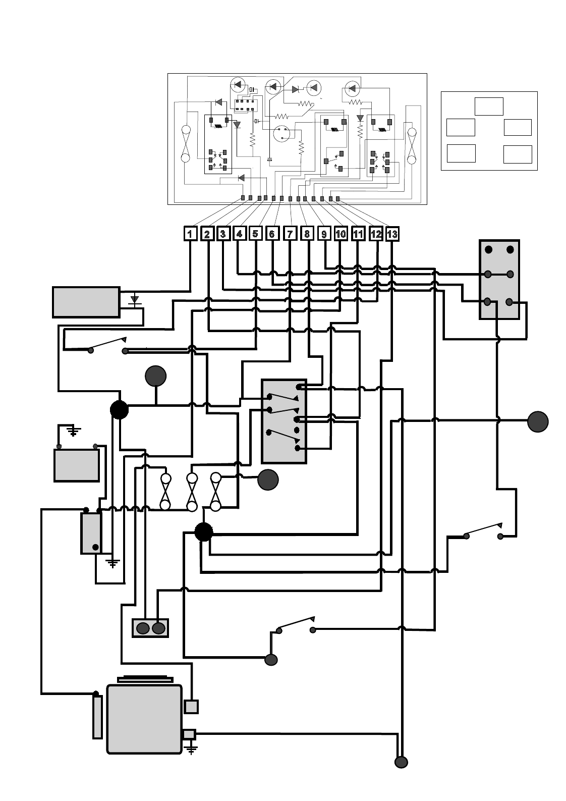 Garden tractor on wiring diagram of star delta starter