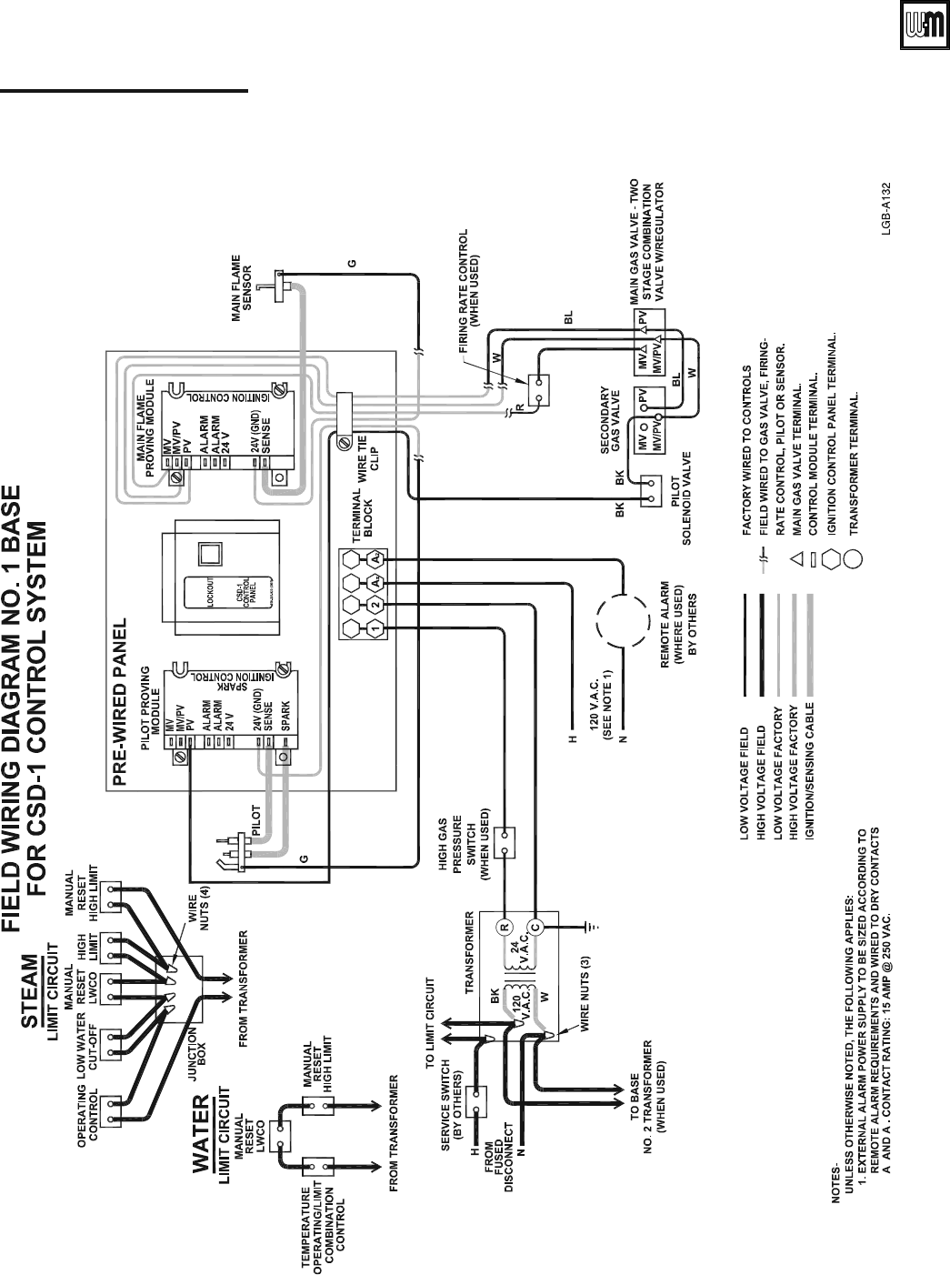 Page 9 Of Weil Mclain Boiler Lgb 20 User Guide Manualsonlinecom Schematic Diagram Csd 1 Control System Natural Gas