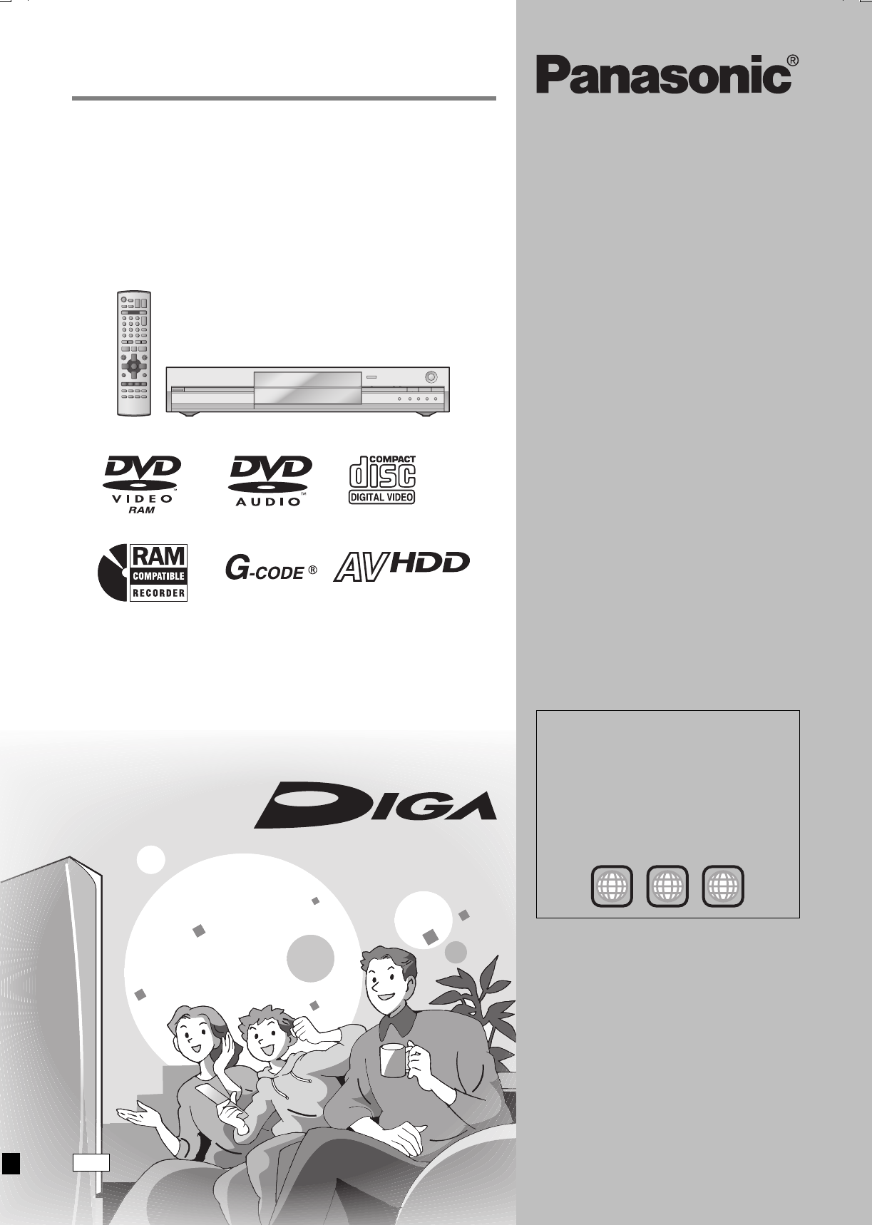 panasonic dv3 hdd dvd manual