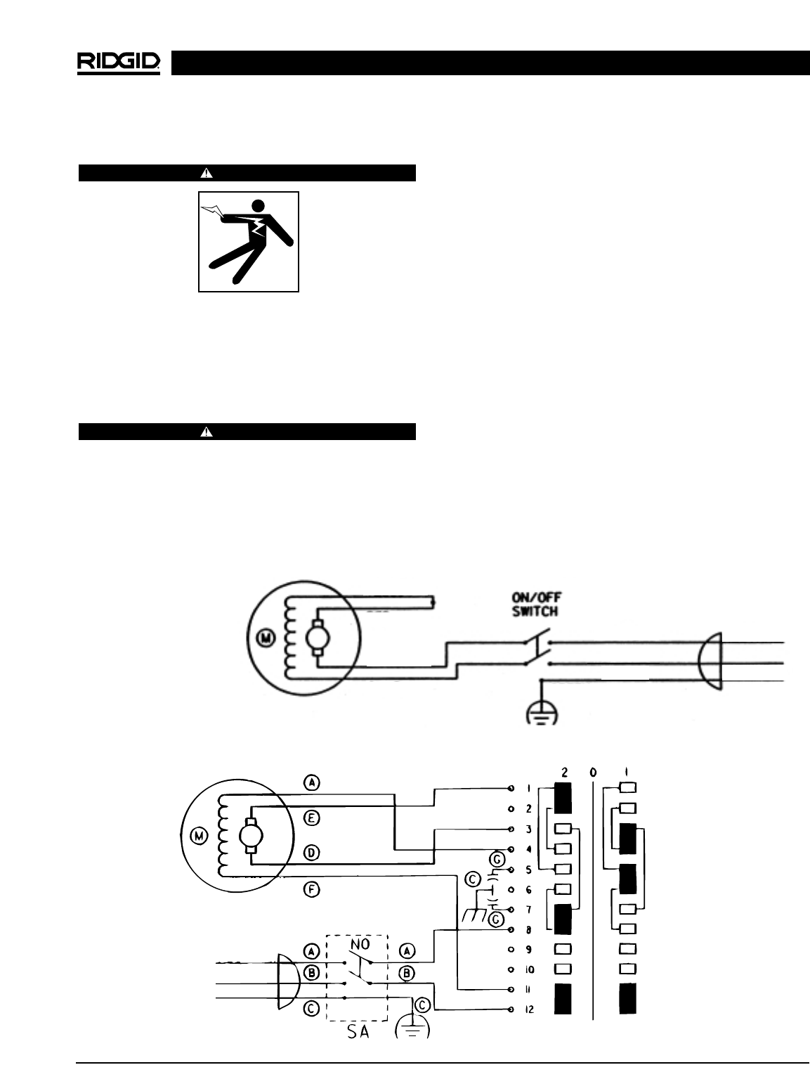 68b109bc 3c1f 445d 9958 08de9edaa37c bg13 page 19 of ridgid sewing machine 300 user guide manualsonline com ridgid 300 wiring diagram at cita.asia