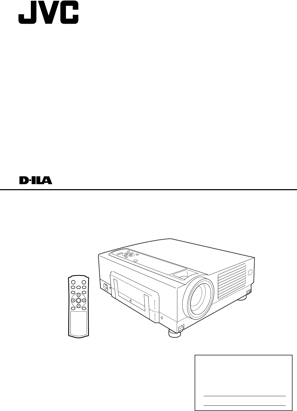 INSTRUCTIONS. DLA-HD2KU/DLA-HD2KE