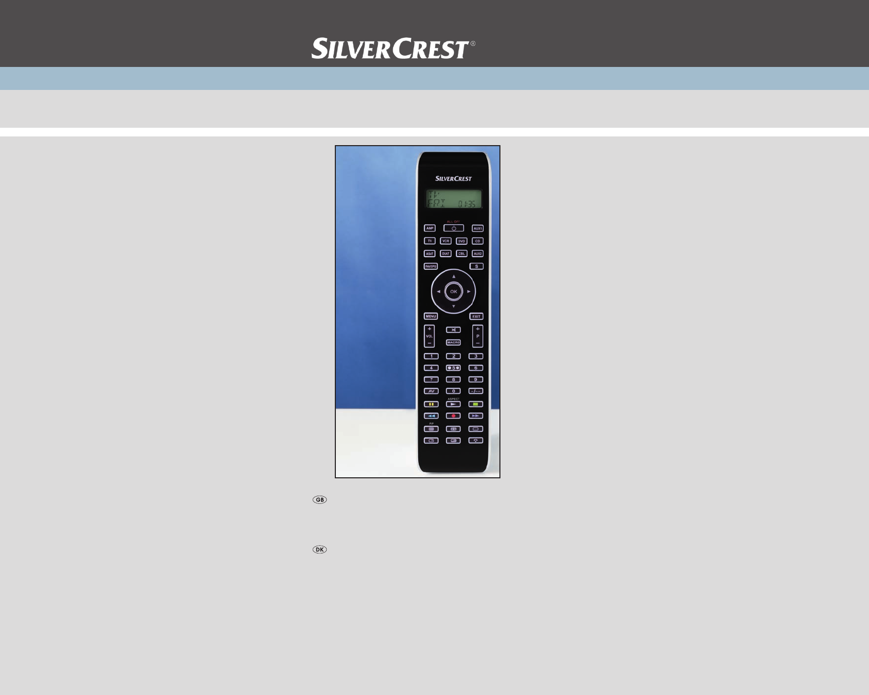 silvercrest universal remote kh 2159 user guide manualsonline com rh tv manualsonline com Nortel Norstar Phone System Manual silvercrest simply talk 100 telephone manual