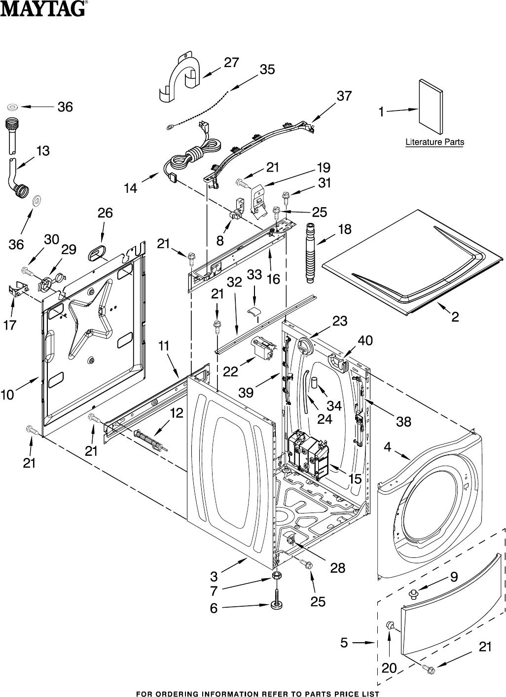 maytag bravos washer parts manual