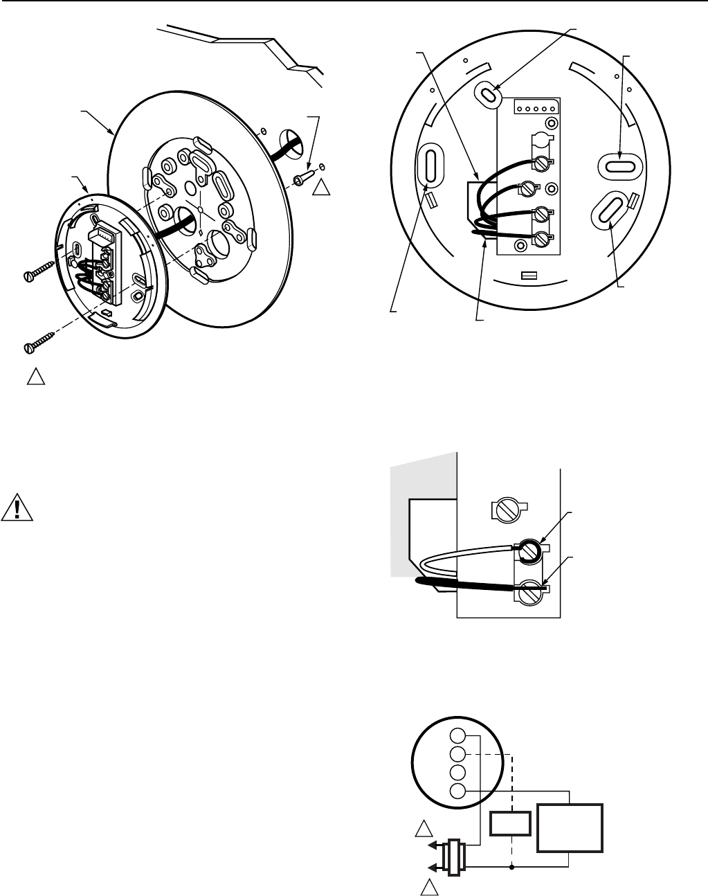 page 4 of honeywell thermostat t8700c1005 user guide