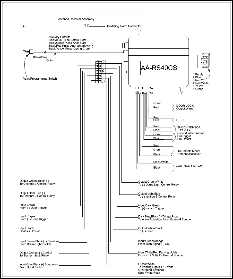 69e04308 c1aa 4573 a658 246c077df5e2 bg18 page 24 of audiovox automobile alarm aa rs40cs user guide audiovox alarm wiring diagrams at alyssarenee.co