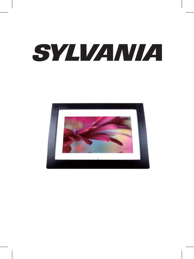 Sylvania Digital Photo Frame SDPF1033 User Guide | ManualsOnline.com