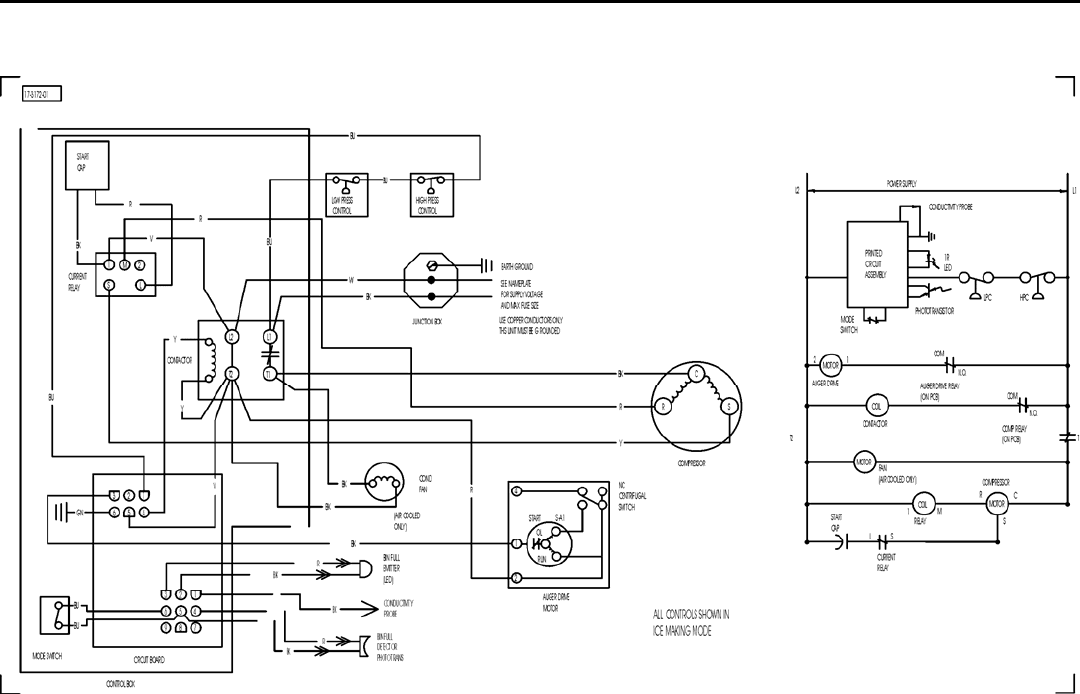 6a2edf1b 190f 44b3 8154 b9c0d4853824 bg26 page 38 of ice o matic ice maker mfi user guide manualsonline com frigidaire refrigerator ice maker wiring diagram at gsmportal.co