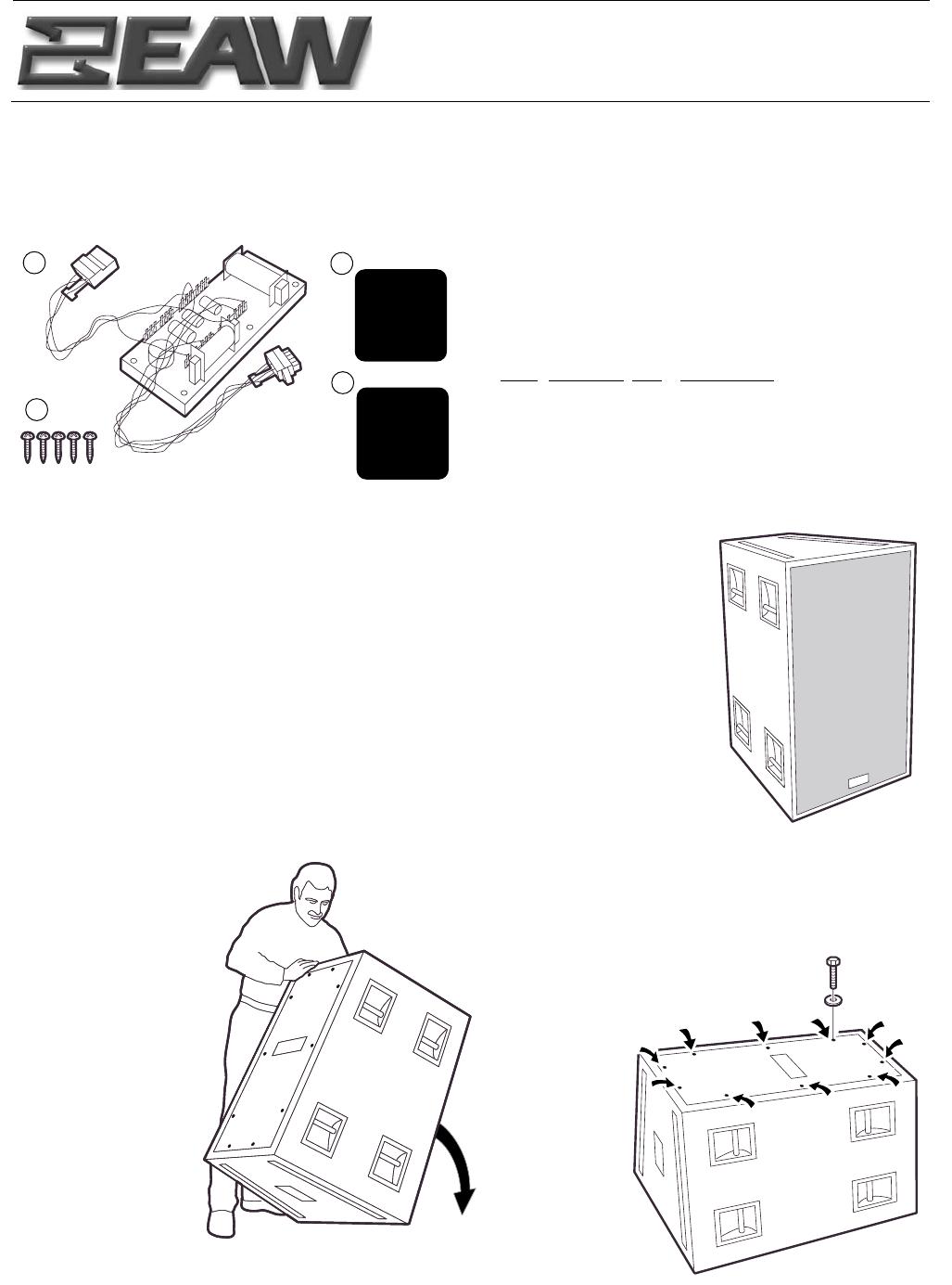 eaw portable speaker kf850z user guide