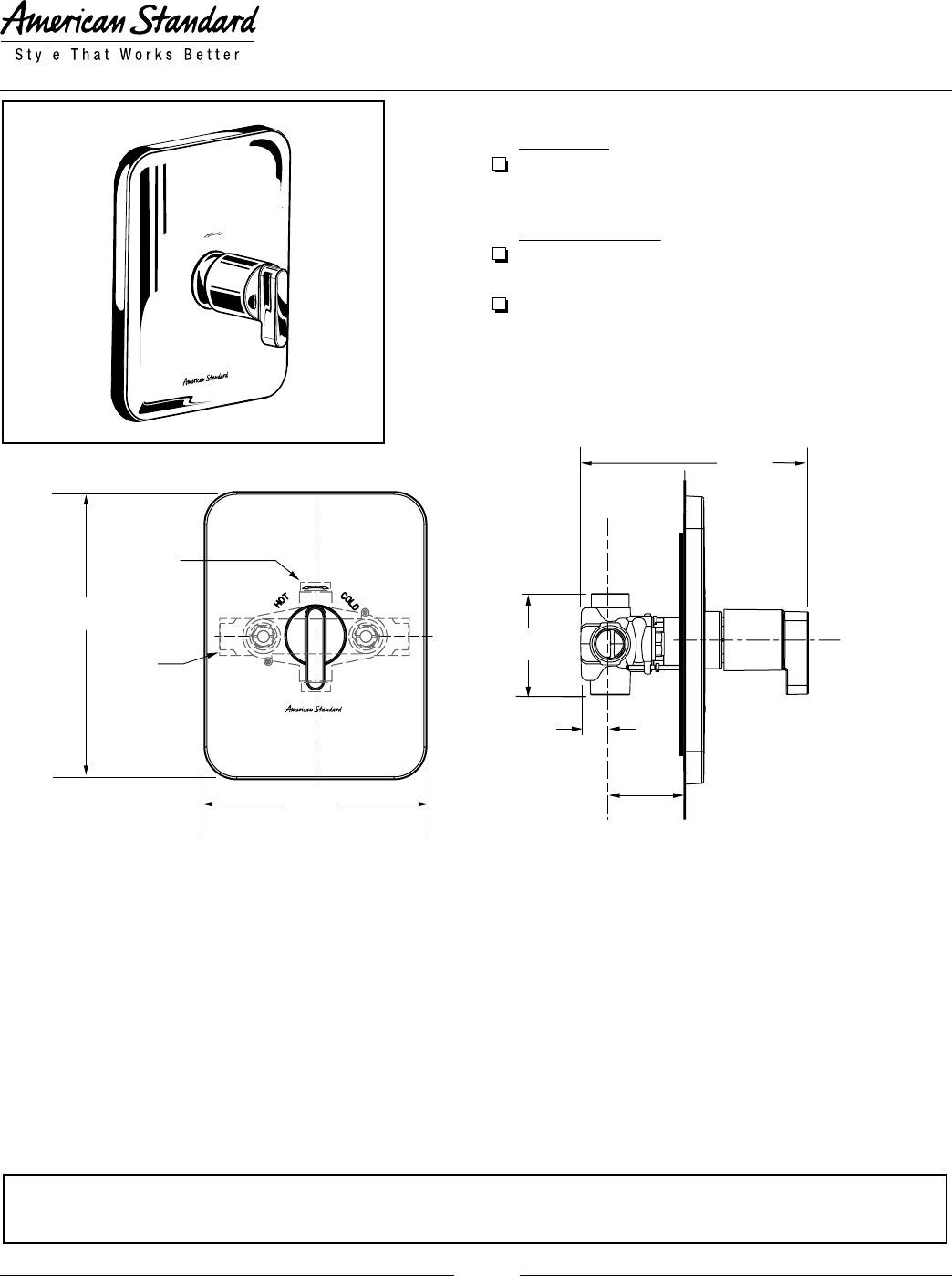 American Standard Thermostat R510 User Guide