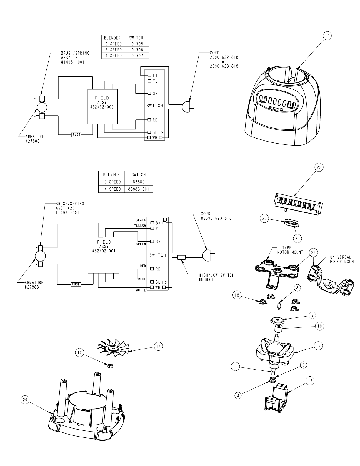 kitchenaid mixer exploded view : clairelevy
