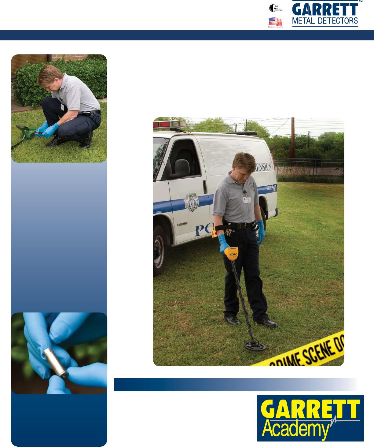 garrett handheld metal detector pdf