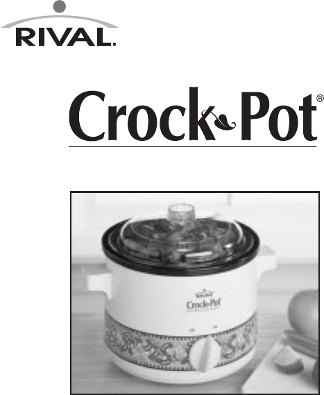 rival slow cooker 3122 ch user guide manualsonline com rh kitchen manualsonline com Rival Crock Pot Recall Rival Crock Pot Replacement Stoneware