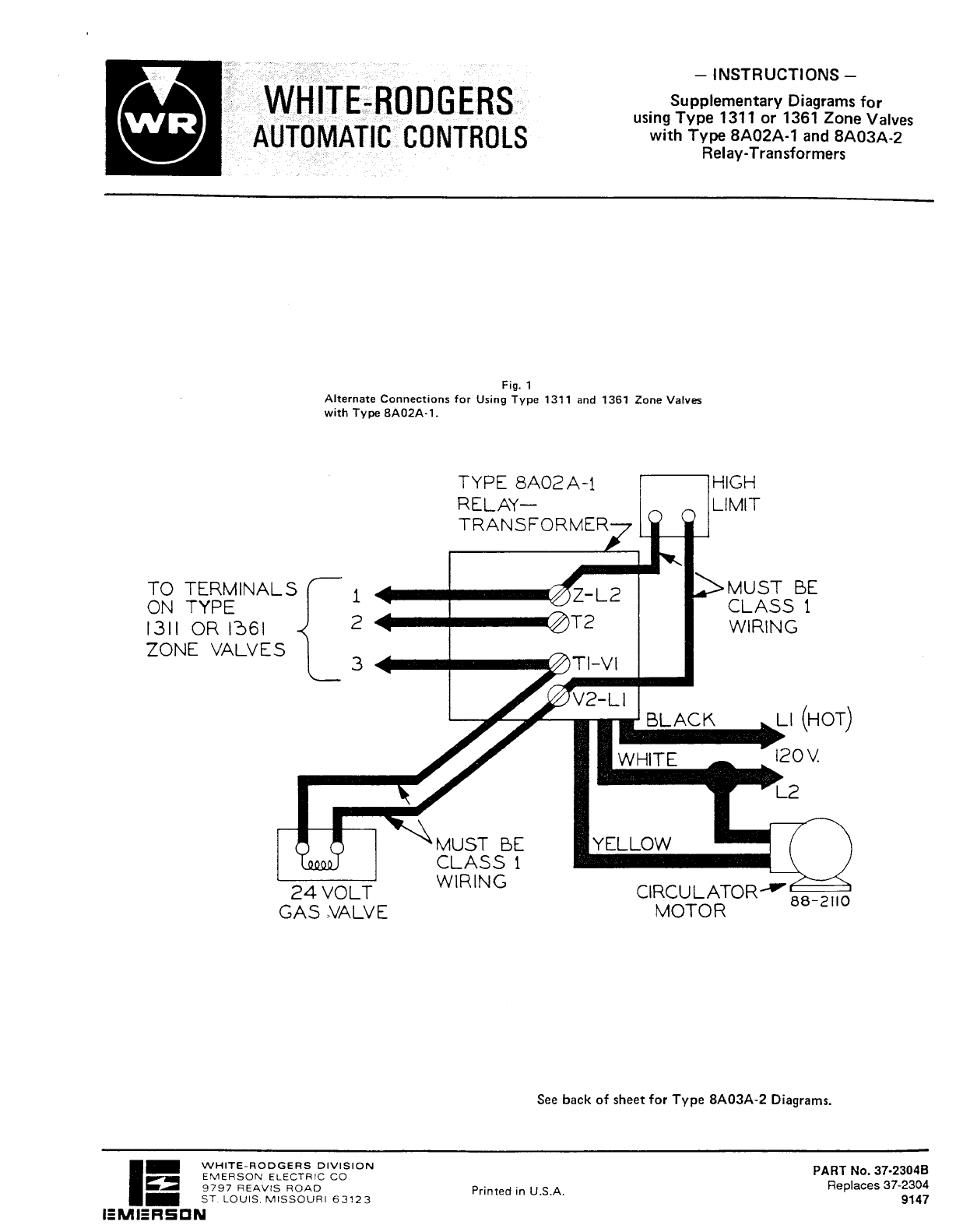 White Rodgers 1361 102 Wiring Diagram - 2015 Chevy Traverse Wiring Diagram  for Wiring Diagram Schematics   White Rodgers 1361 102 Wiring Diagram      Wiring Diagram Schematics